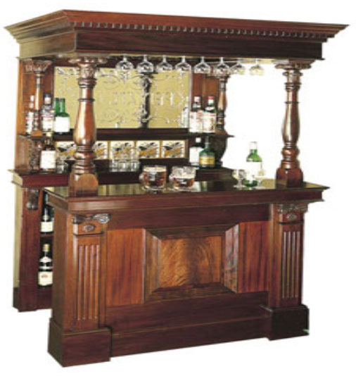 Bar Cabinet 008 - Click Image to Close