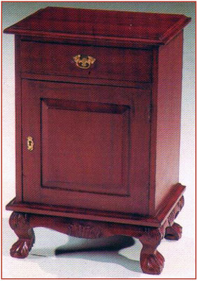Chippendale Bedside Cabinet