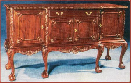 Chippendale 4 Door Buffet