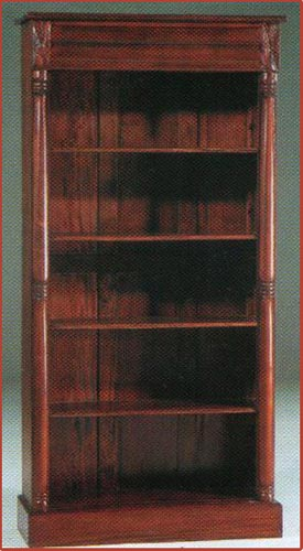 Victorian Open Front Bookcase 409