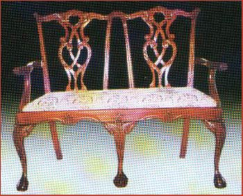 Chippendale 2 Seater State