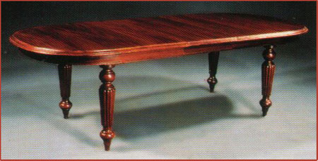 Victorian Blunt End Dining Table 210