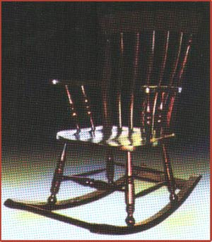 Slatback Rocking Chair
