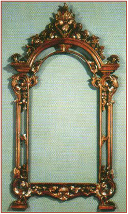 Chippendale Pediment Mirror
