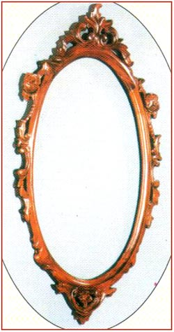 Small Carved Mirror