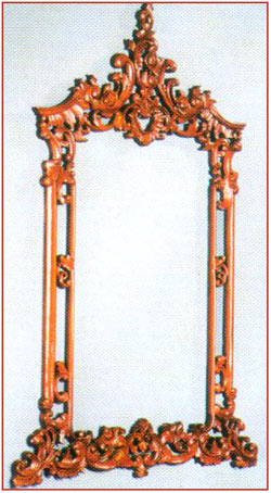 Heavy Carved Mirror