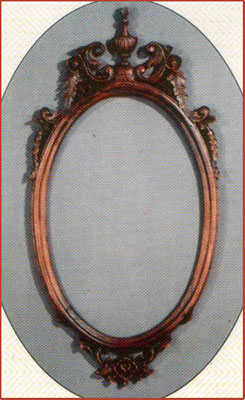 Oval Cup Mirror