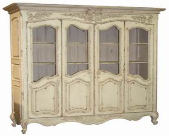 Armoire 4 Doors Knockdown French Style