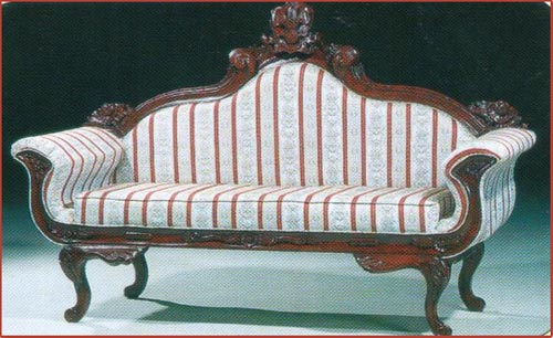 Regency Swan Carved 3 Seater