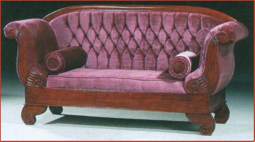 Fluted Couch
