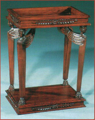 Angel Leg Table with Marble