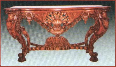 Large Carved Console