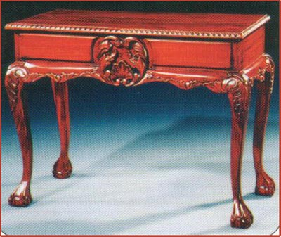 Chippendale Console with Marble
