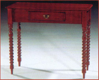 Bobbin Leg Table
