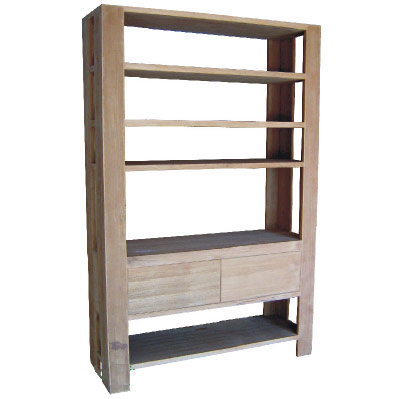 Book Shelves 3 Drawers